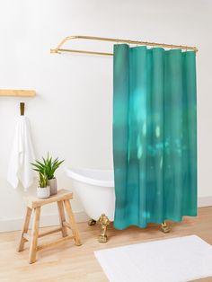 """Overwater-Underwater | Abstract"" Shower Curtain by MenegaSabidussi | Redbubble"