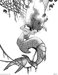 Rescue Sirens: Kelby Tangled x Print – Art Sketches Art Anime, Anime Kunst, Inspiration Art, Art Inspo, Fantasy Kunst, Fantasy Art, Art Sketches, Art Drawings, Pretty Drawings