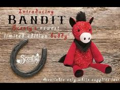 Bandit the Horse is ready to gallop into your life  Let's Ride With his colorful, patterned coat and darling bandana, Bandit is sure to steal the heart of any horse crazy kid (or adult)! But this limited-edition equine will be galloping into the sunset soon—and a new Scentsy Buddy will take his place.   Every Scentsy Buddy features a zippered pouch to hold your favorite Scent Pak fragrance. The cost is $25.  www.lynnebiniker.scentsy.us