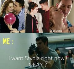 Stydia forever,  but I loved her with Aiden  I would've wanted lydia with either stiles or Aiden