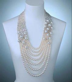 Vintage Mikimoto Pearl Necklace | Mikimoto Akoya pearls Necklace