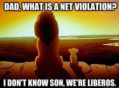 BAHAHAHA FUNNY!!! Not really a libero, but still funny