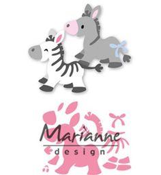 Boutique scrapbooking - Die BigShot Marianne Design ane zebre