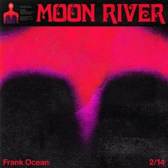 ListenUp: Frank Ocean: Moon River (cover) Read the full article on Cool Hunting Iconic Album Covers, Cool Album Covers, Music Album Covers, Frank Ocean Lyrics, Frank Ocean Album, Frank Ocean Poster, Slam Dunk Manga, A4 Poster, Poster Wall