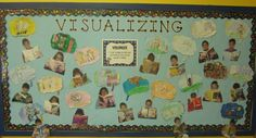 first grade parade bulletin board | Visualizing bulletin board | First Grade Classroom Ideas