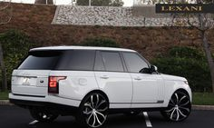 """Black and white Rover- this is the only """"minivan"""" I'll ever drive"""