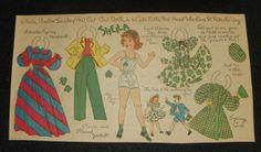 1948 Sheila paper doll / eBay