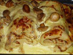 Clătite pufoase reţetă. Reteta culinara Clatite cu pui si ciuperci in sos de smantana din categoria Aperitive / Garnituri. Cum sa faci Clatite cu pui si ciuperci in sos de smantana