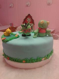 Torta Sapo Pepe y Caballo Verde