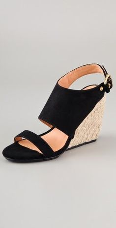 Rebecca Minkoff Suri Suede Wedge Sandals $206.50 with FREE SHIPPING. ~ The Stilush Team