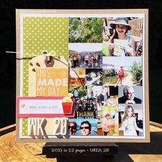 art scrap & more: 2015 in 52 Pages ➲ WEEKS 28&29 // SEMAINES 28&29