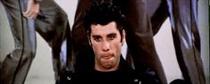 """Greasy hair is a good thing. 