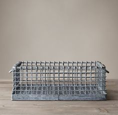 Belgian Metal Produce Baskets
