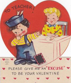 valentine electric card