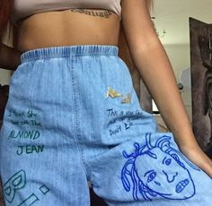 // pinterest: badgalcamryn ✨ I would love to get some plain jeans like this and recreate this style