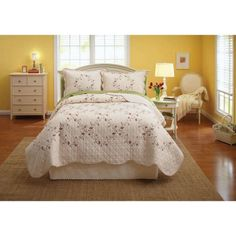 Free 2-day shipping. Buy Better Homes and Gardens Hannalore Bedding Quilt at Walmart.com
