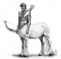 Centaur with a bow. :)