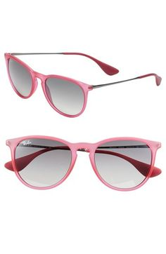 Ray-Ban 'Wayfarer' 54mm Sunglasses. Want. | See more about wayfarer, nordstrom and sunglasses.