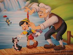 Pinocchio και Geppetto