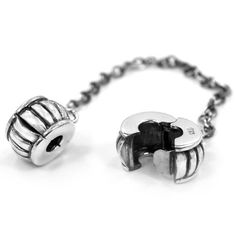 Solid Sterling Silver .925 Safety Chain Clip Lock Beads Charms Fits Pandora Chamilia Bracelet Pro Jewelry. $28.99. fits Pandora Chamilia Bracelet. Material: S925 Solid Silver. Quantity: 1