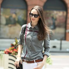 Cheap shirt collar, Buy Quality shirts garments directly from China fitted polo shirts for men Suppliers: Veri Gude Women Corduroy Blouse Vintage Style Floral Print Design