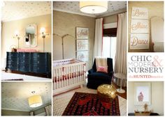 Oh My Nursery!  A Client's Room Reveal