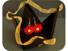"""spazio alla mia fantasia: orecchini""""gerbera""""regalo di comleanno per Barbara!..."""