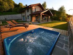Vrijstaand vakantiehuis met privé jacuzzi en groot terras ligt in Piemonte. http://bit.ly/2flkSxl