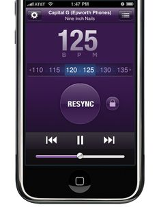 Sync Step generates a playlist to match your heart rate. Perfect for working out! $4.99