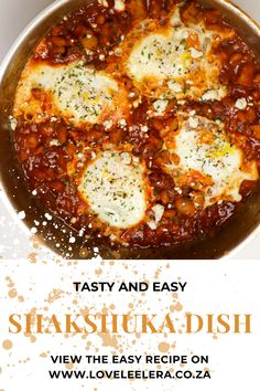 Easy Shakshuka Recipe with Baked Beans & Sausage Shakshuka is a simple one-pan meal that makes a statement, and it's a great recipe to keep in your back pocket. Not only is it a great breakfast, it's also suitable for lunch and dinner. Want to learn how to make it? Follow the link #Shakshuka #Breakfast #BreakfastIdea #TheLOVELEELERABlog #Recipe How To Make Shakshuka, Shakshuka Recipes, One Pan Meals, Easy Meals, Canned Baked Beans, Beans And Sausage, Baked Bean Recipes, Garlic Clove