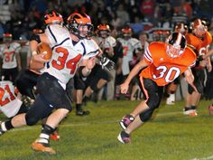 3 county teams remain in playoff contention: COLUMBUS — With two weeks left in the high school football regular season, half of Darke County's teams are out of playoff contention while the others are on the outside looking in. #advocate360