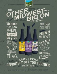 Upland Brewing Poster