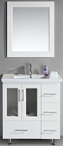 Best Photo Gallery For Website Design Element Stanton Single Drop In Sink Vanity Set with White Finish