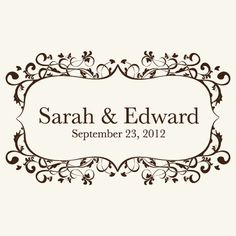 Classic yet Stylish, Dignified but Charming, Sophisticated and Simple. My Wedding Logos Elegant Logos represent the fairy tale wedding that you have always dreamed of. Wedding Logo Design, Wedding Logos, Wedding Pins, Monogram Wedding, Wedding Stationary, Our Wedding Day, Wedding Details, Wedding Invitations, Wedding Stuff