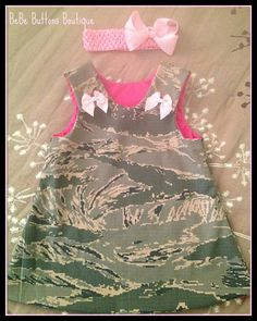 Air Force ABU Jumper Dress