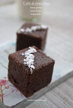Mon petit bistrot: Cubi al cioccolato (senza glutine)