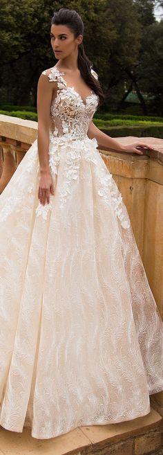Wedding Dress by Milla Nova White Desire 2017 Bridal Collection - Mabela