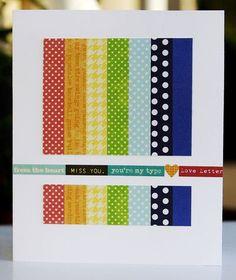 glorious rainbow card