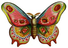 *The Graphics Fairy LLC*: Vintage Advertising Graphic - Gorgeous Colorful Moth Graphics Fairy, Free Graphics, Big Butterfly, Butterfly Print, Butterfly Painting, Decoupage, Vintage Prints, Vintage Art, Vintage Gypsy