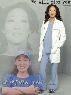 We will miss you Sandra Oh.