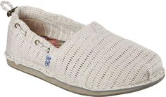ddd68158a374 Skechers Women s Bobs Chill Stitch N Time Alpargata Natural Size 5 M