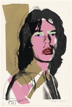 Mick Jagger | Andy Warhol | Pop Art | 1975