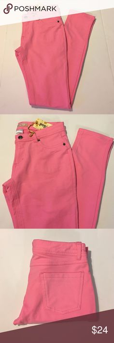 Pink PopLooks Skinny Pants Jeggings Beautiful bubblegum pink Jeggings by Pop Looks. Brand new with tags. No damage. Chic and stylish. Perfect for any occasion. Available in multiple sizes. PopLooks Pants Skinny