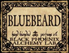 Bluebeard Halloween Labels Apothecary Potions Queen Costumes