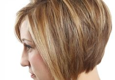 Short Haircuts Stacked in Back   Highlighted Hairstyle
