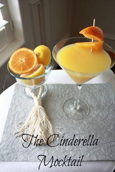 Mocktail Challenge Day 28: The Cinderella  www.DeliciouslyWell.com