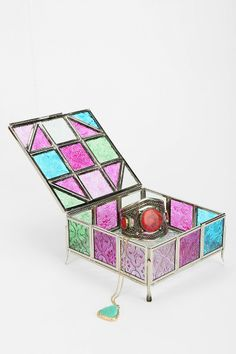 Magical Thinking Stained Glass Box - Urban Outfitters