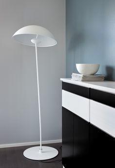 Lundia Kajo in private home. A black and white Lundia Classic piece beside it.