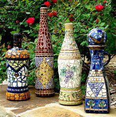 Pique Assiette Bottle Collection by Jacqueline Iskander, via Flickr