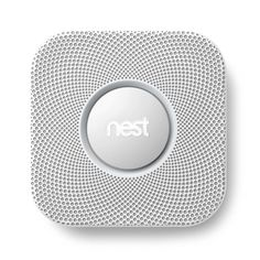 Nest Protect: Smoke + Carbon Monoxide™ does much more than just sound a shrill alarm when there's danger in your home. It speaks to you, tel... #Home_Safety #Smoke_Detector